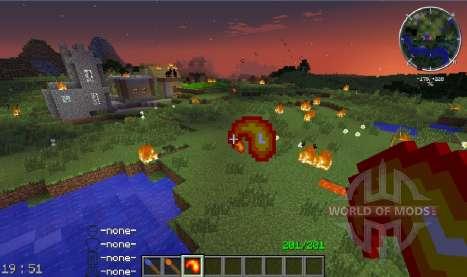 Fire Flower pour Minecraft