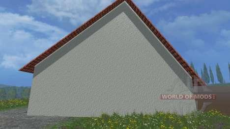 Haus im Dorf für Farming Simulator 2015