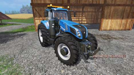 New Holland T8.320 600EVO v1.3 pour Farming Simulator 2015