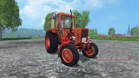 MTS Belarus 80 v3.0 für Farming Simulator 2015