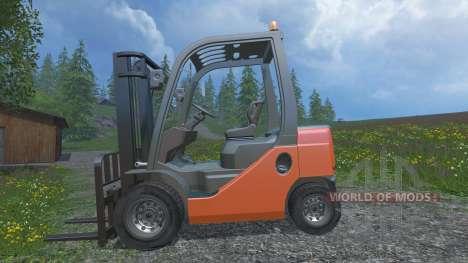 Toyota 62-8FD18 pour Farming Simulator 2015