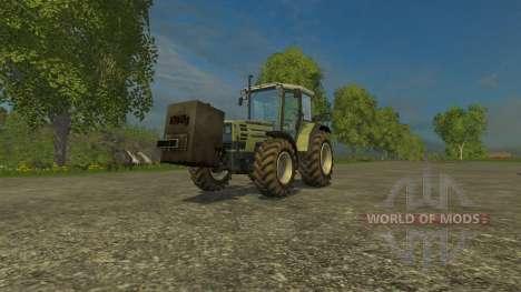 Hausgemachte 750kg für Farming Simulator 2015