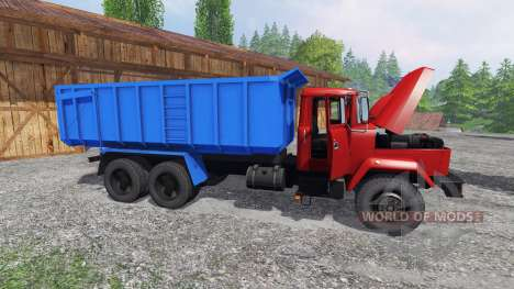 Kraz-6130 C4 pour Farming Simulator 2015