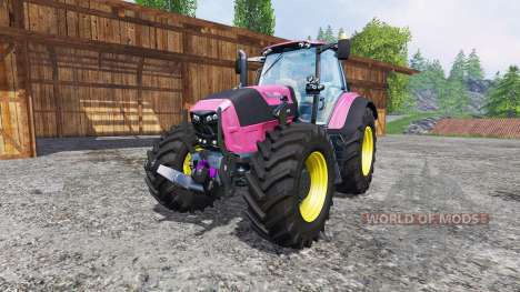 Deutz-Fahr Agrotron 7250 FL pink color pour Farming Simulator 2015