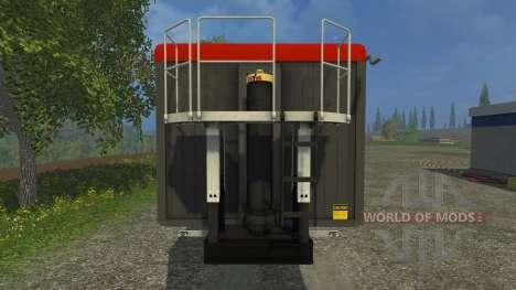 Stapel Mulde pour Farming Simulator 2015