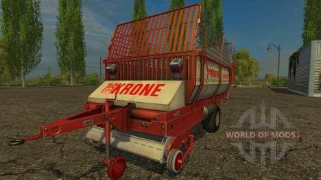 Krone Turbo 2500 pour Farming Simulator 2015