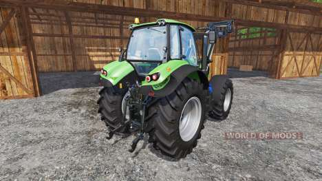 Deutz-Fahr Agrotron 7250 TTV FL v1.2 für Farming Simulator 2015