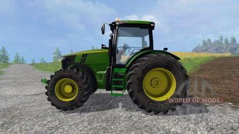 John Deere 7310R v2.0 pour Farming Simulator 2015