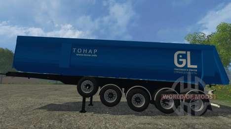Tonar 95234-0000010 pour Farming Simulator 2015