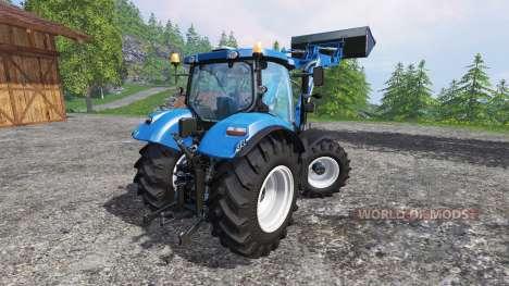 New Holland T6.160 FL für Farming Simulator 2015