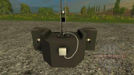 Lizard 800кг für Farming Simulator 2015