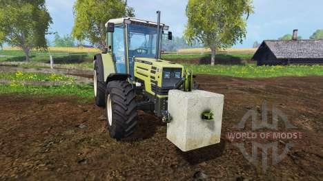 Contrepoids de béton de 500 kg. pour Farming Simulator 2015