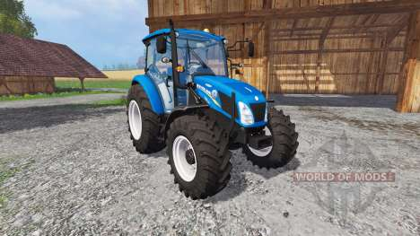 New Holland T4.115 matt Farbe pour Farming Simulator 2015