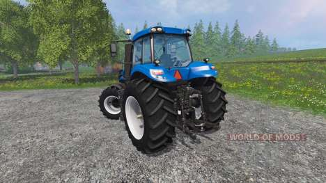 New Holland T8.435 with Weight für Farming Simulator 2015