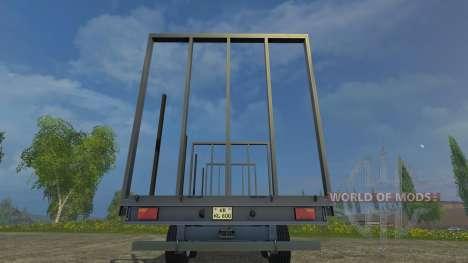 Palettenanhaenger für Farming Simulator 2015