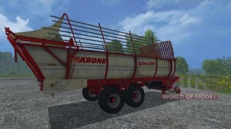 Krone Turbo 3500 für Farming Simulator 2015