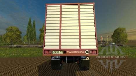 Pöttinger Jumbo Combiline 6610 pour Farming Simulator 2015