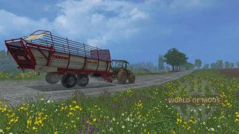 Krone Turbo 3500 pour Farming Simulator 2015