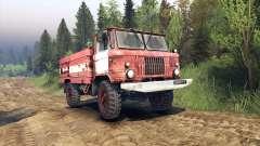 GAZ-66 AC-30 pour Spin Tires