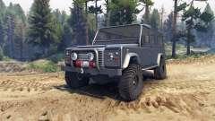 Land Rover Defender 110 dark blue gray für Spin Tires