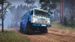 KamAZ 49252 für Spin Tires