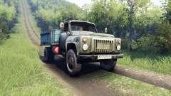 GAZ-53 für Spin Tires