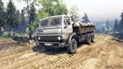KamAZ-55102 v4.0 für Spin Tires