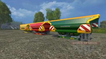 Set Amazone Zam 1501 für Farming Simulator 2015
