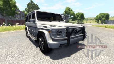 Mercedes-Benz G500 pour BeamNG Drive