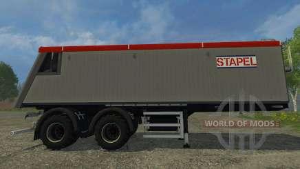 Stapel Mulde für Farming Simulator 2015