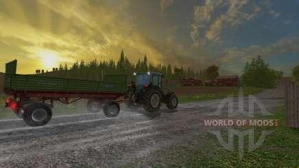 Krone Emsland ROS für Farming Simulator 2015