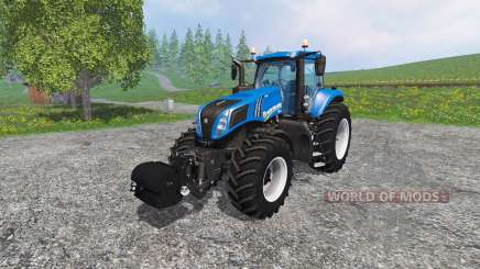 New Holland T8.435 with Weight pour Farming Simulator 2015