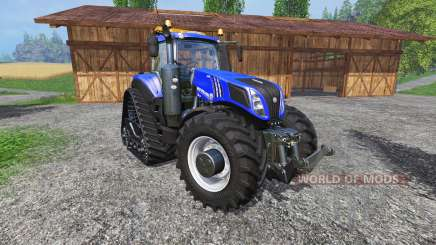 New Holland T8.435 with 200 km-h pour Farming Simulator 2015