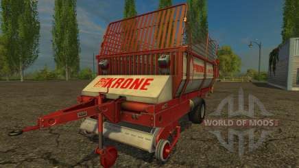 Krone Turbo 2500 für Farming Simulator 2015