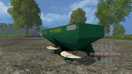 RU-1000 pour Farming Simulator 2015