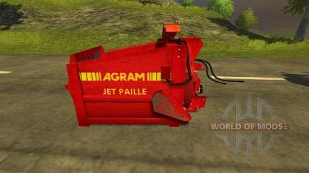 Pailleuse Agram Jet de paille für Farming Simulator 2013