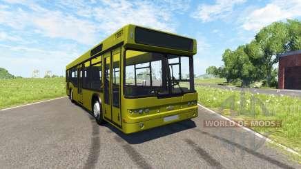 MAZ-203 jaune pour BeamNG Drive