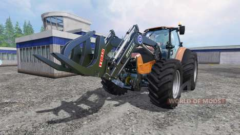 Deutz-Fahr Agrotron 7250 Forest King orange für Farming Simulator 2015