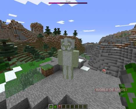 TitanCraft pour Minecraft
