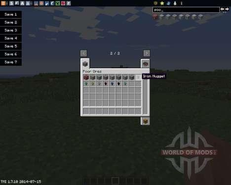 PoorOres für Minecraft