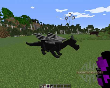 Dragon Mounts pour Minecraft