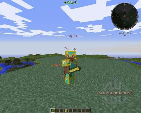 Gilded Armor für Minecraft