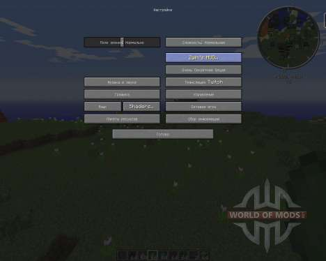 Zyins HUD pour Minecraft