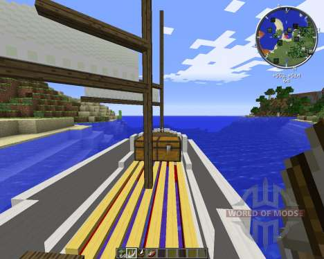 Small Boats für Minecraft