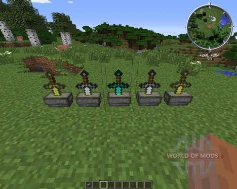 Sword Pedestal für Minecraft