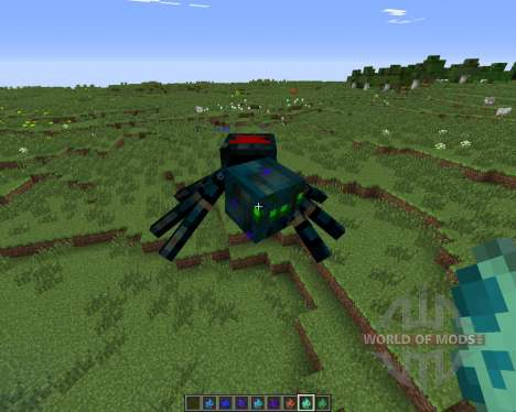 Much More Spiders pour Minecraft