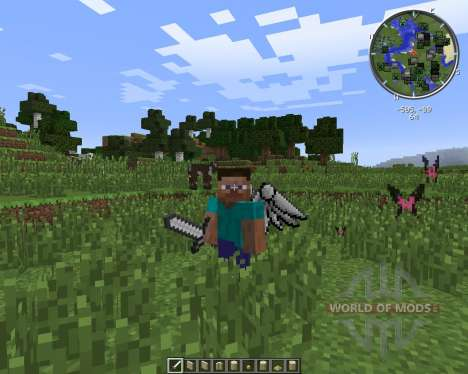 Cosmetic Wings für Minecraft