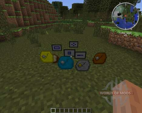 Iron Backpacks pour Minecraft