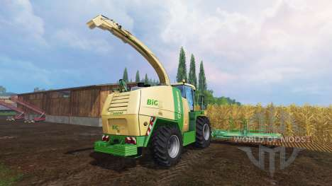 Krone Big X 1100 für Farming Simulator 2015