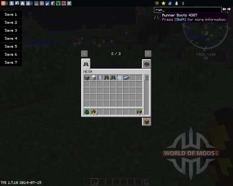 MESA für Minecraft